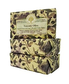 Tuscany Olive Soap with Pack of 3, Each 7 oz