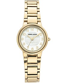Women's Gold-Tone Bracelet Watch 28mm