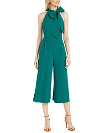 Bow Neck Jumpsuit