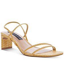 Owens Barely-There Strappy Dress Sandals