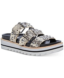 Caia Studded-Strap Footbed Sandals