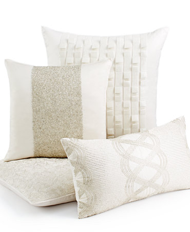 hotel collection bedding finest luster decorative pillows