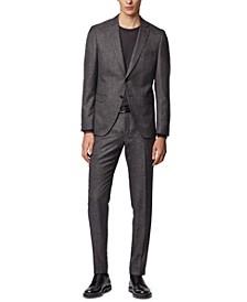BOSS Men's Reymond / Wenten Open Grey Suit