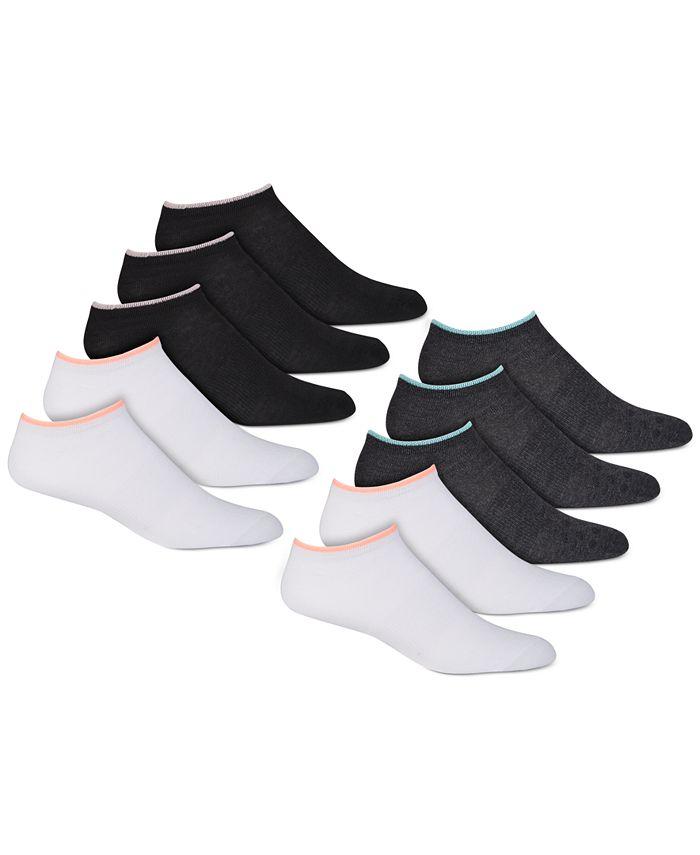 Warner's - Women's 10-Pk. Stay Fresh Anti-Odor Low-Cut Socks