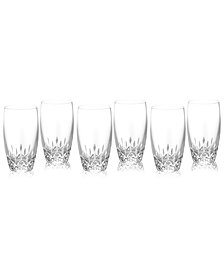Waterford Barware, Lismore Essence Highball Glasses, Set of 6