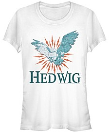 Harry Potter Hedwig Messenger Owl Women's Short Sleeve T-Shirt