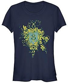 Harry Potter Goblet Of Fire Beaux batons Crest Women's Short Sleeve T-Shirt