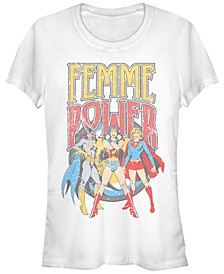 DC Justice League Femme Power Women's Short Sleeve T-Shirt