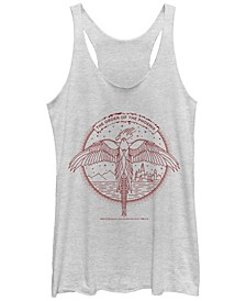 Harry Potter The Order Of The Phoenix Deathly Hallows Tri-Blend Women's Racerback Tank
