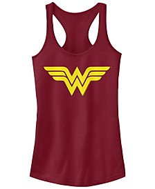 DC Wonder Woman Simple Logo Women's Racerback Tank