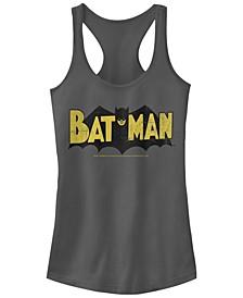 DC Batman Classic Distressed Logo Women's Racerback Tank