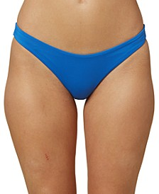 ONeill Juniors' Salt Water Solids Hipster Bikini Bottoms