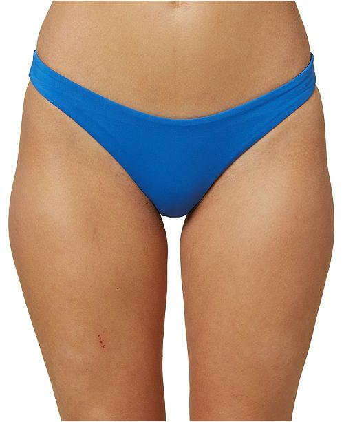 O'Neill ONeill Juniors' Salt Water Solids Hipster Bikini Bottoms