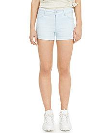 Celebrity Pink Juniors' Mid-Rise Cuffed Denim Shorts