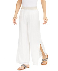 Wide-Leg Pull-On Pants, Created for Macy's