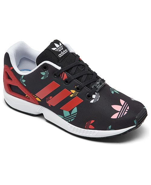 Medicina Forense federación Banco  adidas Big Kids' ZX Flux Casual Sneakers from Finish Line & Reviews -  Finish Line Athletic Shoes - Kids - Macy's