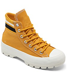 Women's Chuck Taylor All Star Lugged Varsity High Top Casual Sneakers from Finish Line