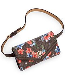 Signature Floral Belt Bag