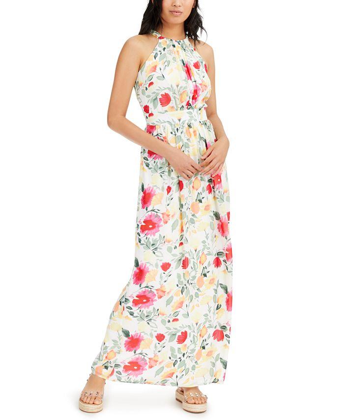 INC International Concepts - Floral-Print Maxi Dress