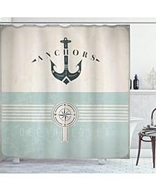 Nautical Shower Curtain