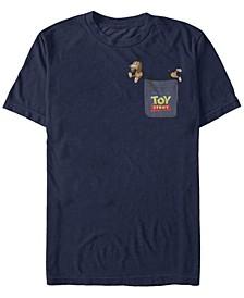 Toy Story Men's Slinky Dog Pocket Short Sleeve T-Shirt