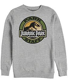 Jurassic Park Men's Staff Retro Logo Crewneck Fleece