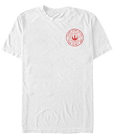 Star Wars Men's Train To Be A Jedi Camp Logo Short Sleeve T-Shirt