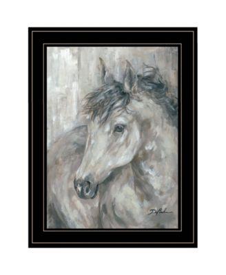 True Spirit by Debi Coules, Ready to hang Framed Print, White Frame, 15
