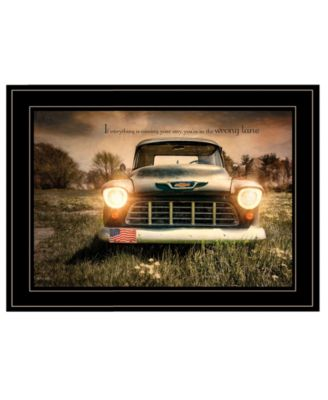 Wrong Lane by Robin-Lee Vieira, Ready to hang Framed Print, Black Frame, 21
