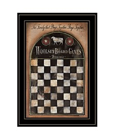 Trendy Decor 4u Woolsey Board Game by Pam Britton, Ready to Hang Framed Print Collection