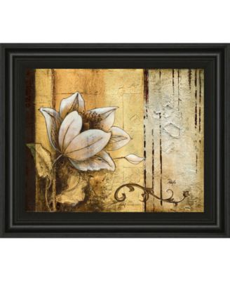Exotic on Gold II by Patty Q Framed Print Wall Art, 22