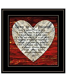 Trendy Decor 4U Love is Patient by Cindy Jacobs, Ready to hang Framed Print Collection