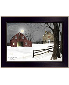 Trendy Decor 4U Light in the Stable by Billy Jacobs, Ready to hang Framed Print Collection
