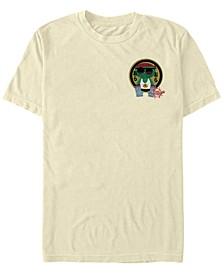 Marvel Men's Spider-Man Spiderverse Fish Sticker Short Sleeve T-Shirt