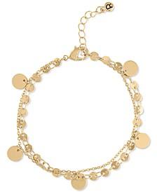 Gold-Tone Shaky Charm Flex Bracelet