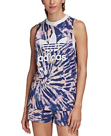 Cotton Tie-Dyed Tank Top