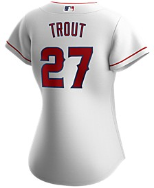 Los Angeles Angels Women's Mike Trout Official Player Replica Jersey