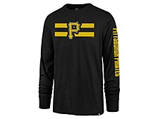 Pittsburgh Pirates Men's Cross Stripe Long Sleeve T-Shirt