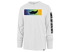 Tampa Bay Rays Men's Cross Stripe Long Sleeve T-Shirt