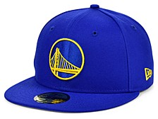Golden State Warriors The Circle Patch 59FIFTY-FITTED Cap