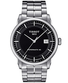 Tissot Men's Swiss Automatic Luxury Stainless Steel Bracelet Watch 41mm T0864071105100