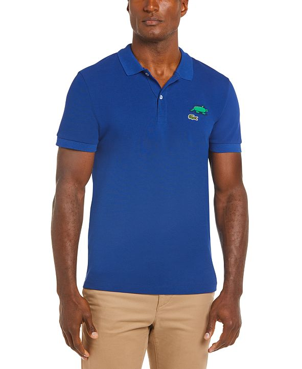 Lacoste Men's Croco Series Jeremyville™ Polo