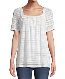 JPR Striped Short-Sleeve Top