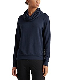 Relaxed-Fit Funnel-Neck Top