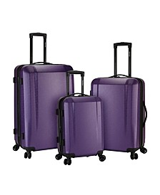 3-Pc. Victoria Expandable Hardside Luggage Set