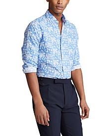 Men's Big & Tall Classic-Fit Linen Shirt