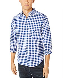 Men's Blue Sail Plaid Shirt