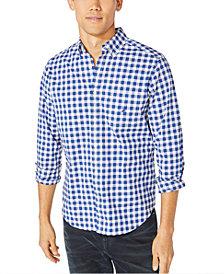 Nautica Men's Blue Sail Plaid Shirt