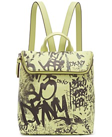 Tilly Graffiti Logo Backpack, Created for Macy's