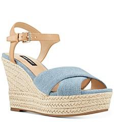 Dane Platform Espadrille Wedge Sandals